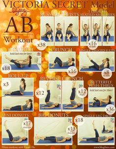VS Ab Workout, via Blogilates- love this one..
