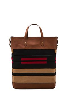 The Portland Collection by Pendleton Monument Laptop Bag in Pinyon Stripe from REVOLVEclothing