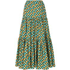 Check out La Doublej with over 1 items in stock. Shop La Doublej tiered peasant skirt today with fast Australia delivery and free returns. African Maxi Dresses, Latest African Fashion Dresses, African Dresses For Women, African Print Fashion, Latest Ankara Dresses, Ankara Dress Styles, Ankara Mode, Ankara Stil, African Blouses
