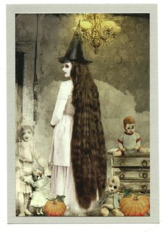 Magick Wicca Witch Witchcraft:  Vintage Witch.