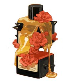 Shachin Teng / Parfum series / for Interview Magazine