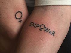 Tatuagens feministas para se inspirar! #girlpower