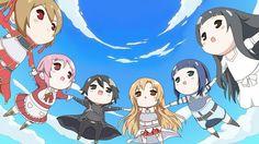 Tags: Sword Art Online, Yuuki Asuna, Hoshino Sora, Yui (Sword Art Online)