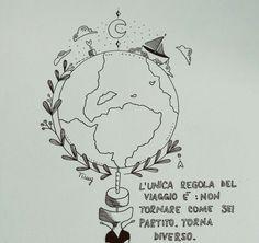 Tatuaggio viaggio .... libertà!!