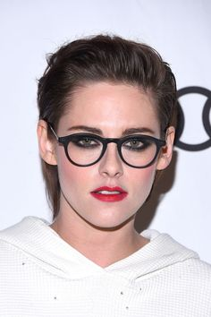 Kristen Stewart seen wearing Claude frames in Black
