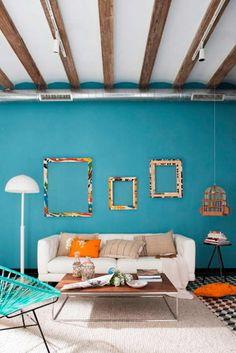 Mediterranean style living room by Egue y Seta Sala Vintage, Interior Architecture, Interior Design, Outdoor Sofa, Outdoor Decor, Mediterranean Decor, Own Home, Decorative Items, Living Room