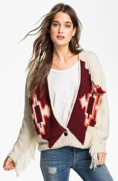 Maison Scotch Western Cardigan available at #Nordstrom