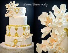 Gâteau de Mariage - Wedding cake - Mademoiselle Elizabeth