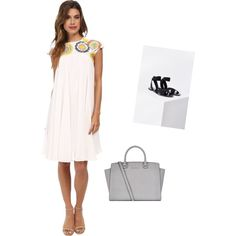 6.4.15 by theyoungcontemporary on Polyvore featuring polyvore, fashion, style, KAS New York, Silence + Noise and MICHAEL Michael Kors