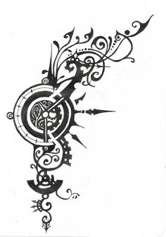 Steampunk Tattoo Designs | Tattoo Design| Tattoo Design mad hatter sketch | Flickr - Photo Sharing! Description from pinterest.com. I searched for this on bing.com/images
