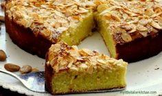 ricotta, almond, lemon cake