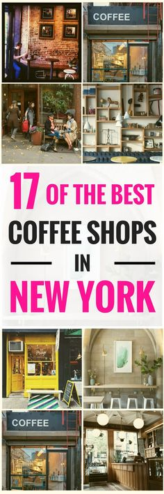 If you're going to get around and keep the pace in the busiest city on earth, you'll need something to keep you fuelled. And coffee is easily available anywhere you go, since New York foodies love their java.Take a look at some of the top recommendations here so you're prepared for what awaits you! 17 of the Best Coffee Shops In New York as of 2017 #coffeelover #coffeeaddict #coffeeshop #coffeebreak #coffeebeans