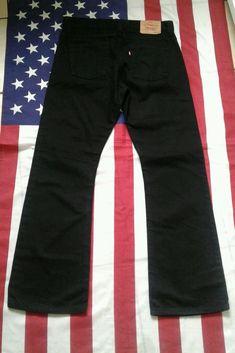 LEVIS 512 vintage Black Bootcut Denim  Jeans W 34 L 32  | eBay