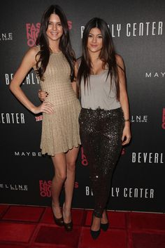 Kendall and Kylie Jenner Photo - Fashions Night Out 2012 At Beverly Center