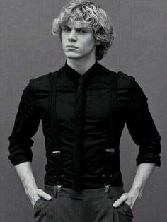 Evan Peters, definitely changed from the dork from the movie sleepover