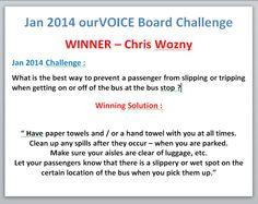 DIA January 2014 Winner Announcement