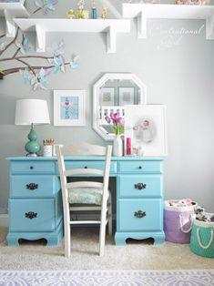 Exceptionnel Centsational Girl » Blog Archive Lavender + Blue Girlu0027s Room   Centsational  Girl