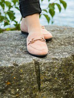 Slipper in Rosa.  www.marmormaedchen.ch