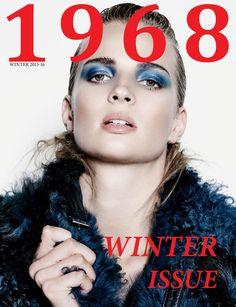 1968 MAGAZINE Magazine Shop, Magazine Art, Us Travel Destinations, Digital Magazine, Fur Fashion, Covergirl, Editorial Fashion, Interview, Winter
