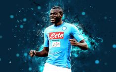 national team of Napoli and Senegal, usually as a center. Today we will discuss about Koulibaly: Introduction Manchester City, Manchester United, World Football, Sports Wallpapers, Old Trafford, Arsenal, Neon Lighting, Liverpool, Abstract Art