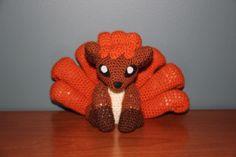 Vulpix Made by Pokemon Crochet Challenge… Pokemon Crochet Pattern, Pikachu Crochet, Amigurumi Patterns, Amigurumi Doll, Crochet Patterns, Crochet Afghans, Crochet Cross, Cute Crochet, Knitting Humor