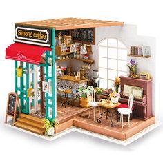 maison de poupées miniature jouet miniatures Black Metal Dolly