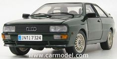 SUN-STAR 04154 1/18 AUDI QUATTRO COUPE 1981Skala:: 1/18Code: 04154Farbe: GREEN METMaterial: Die-Cast