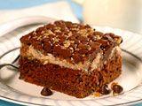 VeryBestBaking.com | Upside-Down Chocolate Cream Cheese Cake... Making this tonight!