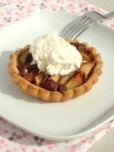 Uit Pauline's keuken: Peer en Chocolade Taartjes