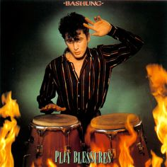 Alain Bashung - LP - Play Blessures - 1982