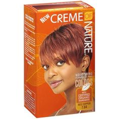 Creme Of Nature Gel Color Nourishing 7 64 Red Copper