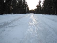 Ice-covered roads? Challenge accepted by Jason from Michigan with the help of his trusty #HakkapeliittaR2