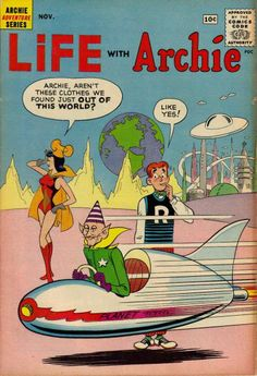 Life With Archie (November Archie Comics Characters, Archie Comic Books, Vintage Comic Books, Vintage Cartoon, Vintage Comics, Comic Books Art, Archie Betty And Veronica, Archie Comics Riverdale, Josie And The Pussycats
