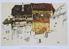 Egon Schiele landscape
