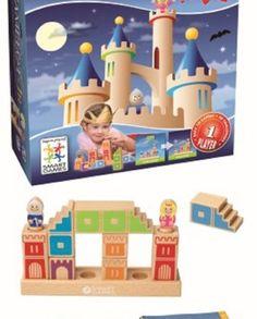 +4 -9 años. Construcción Camelot Jr. El caballero y la princesa están encerrados en torres separadas. ¡Construye un puente utilizando las torres y escaleras para que puedan estar juntos!.