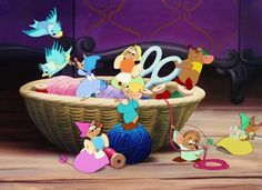 *CINDERELLA's, friends ~ Cinderella, released: 1950