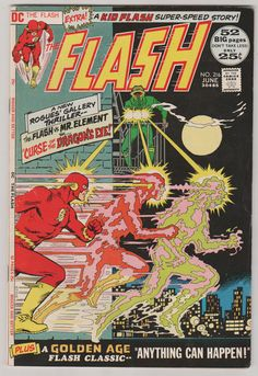 Flash V1 216. VF. June 1972.  DC Comics by RubbersuitStudios #flash #nealadams #comicbooks