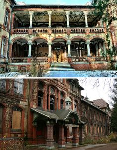 This beautiful abandoned 19th century sanitarium complex located in Beelitz, just outside Berlin, was used by the Germans as a military hospital through the second World War and then occupied by the Russians for the same purpose until 1995, well after the German reunification. It was abandoned altogether in 2000.