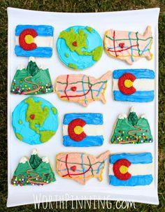 Worth Pinning: Colorado Sugar Cookie set
