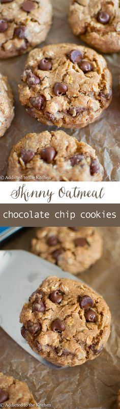 Soft-baked, chewy, healthy oatmeal cookies made from whole wheat flour, oats, honey and a touch of maple syrup. Only 30 minutes to chill and you'll have oatmeal cookies that taste like the real deal!
