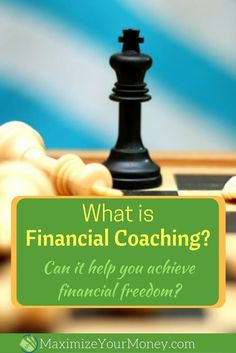 What is financial coaching? Can it help you achieve financial freedom? Could you use some help with financial planning, investing, budgeting, debt management, insurance or other personal finance areas? via @maximizemoney