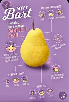 The Bartlett Pear: Nutritional Info, Fun Facts, & Design Stand, Ok Design, Food Graphic Design, Graphic Design Posters, Graphic Design Inspiration, Product Design Poster, Graphic Design Trends, Poster Designs, Menu Design