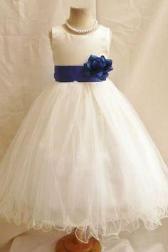 16 Best Navy flower girl dresses images  552cae773c53