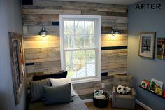 DIY Pallet Wall:The Real Housewives of Bucks County