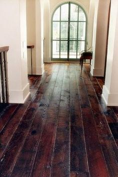 Color for floor Stripes-and-Shadows: British Colonial Style/ Plantation Style beautiful floors Style At Home, Future House, My House, Le Logis, Deco Champetre, Sweet Home, British Colonial Style, Wooden Flooring, Hardwood Floors
