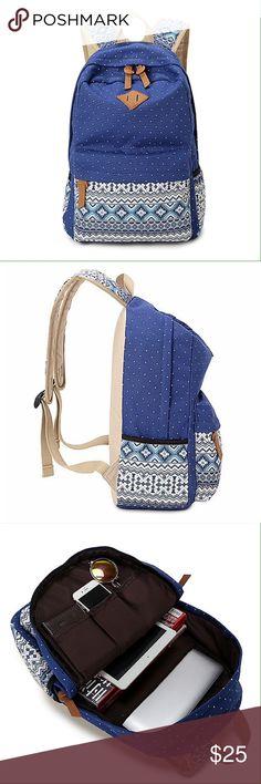 Cute Vintage School Bag for Teenage Girls Casual backpack/ Daily backpack/Computer Backpack/Laptop backpack. Bags Backpacks