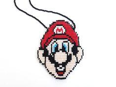 Super mario super mario brothers collier nintendo collier unique super mario bros Bijoux Collier cadeaux nintendo mario