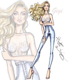 Model of the Moment: Gigi Hadid by Hayden Williams|.Be Inspirational❥|Mz. Manerz: Being well dressed is a beautiful form of confidence, happiness & politeness
