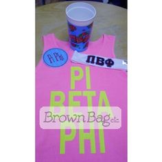 Order this Pi Beta Phi Bid Day package today! Bid Day Gifts, Pi Beta Phi, Online Gifts, Shot Glass, Packaging, Tableware, Dinnerware, Tablewares, Wrapping