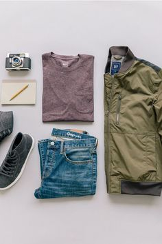 For Him: Sticking to the classics this season, starting with 1969 Denim. @Gap